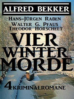 cover image of Vier Wintermorde--4 Kriminalromane