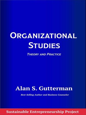 cover image of Organizational Studies