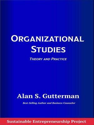 cover image of Organizational Studies