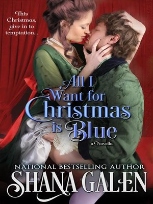 cover image of All I Want for Christmas is Blue