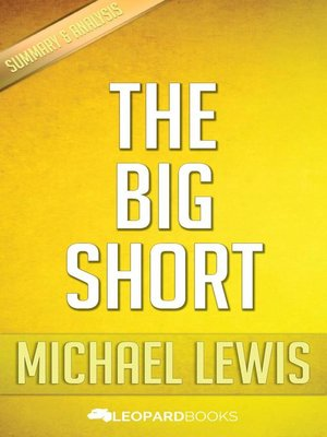 cover image of The Big Short by Michael Lewis