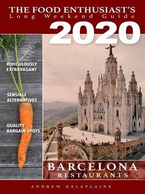 cover image of 2020 Barcelona Restaurants