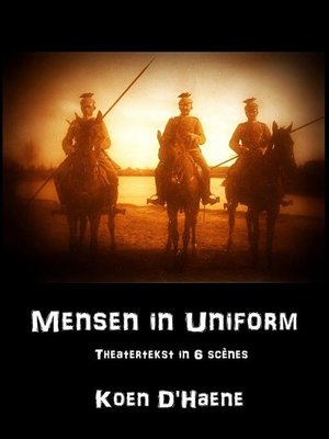 cover image of Mensen in uniform