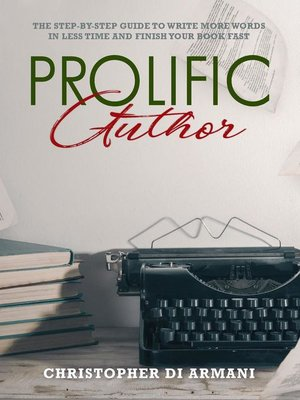 cover image of Prolific Author