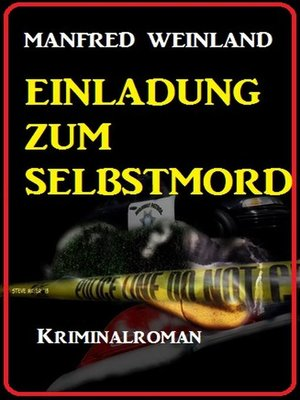 cover image of Einladung zum Selbstmord