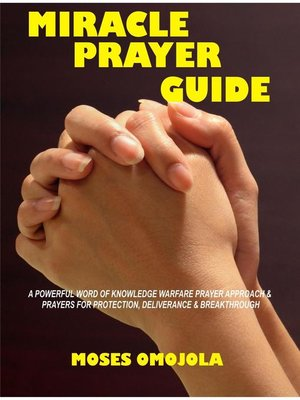 cover image of Miracle Prayer Guide
