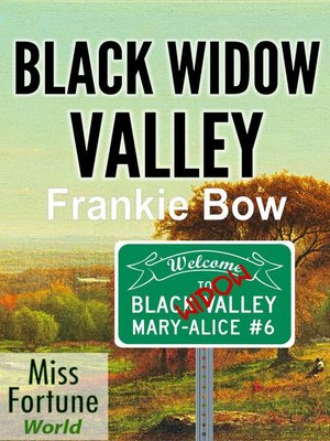 cover image of Black Widow Valley