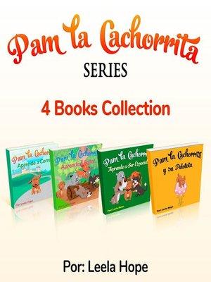 cover image of Pam La Cachorrita Serie de Cuatro Libros