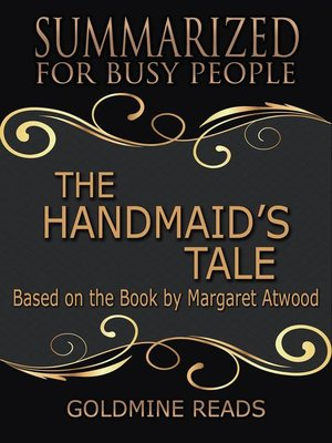 cover image of The Handmaid's Tale--Summarized for Busy People