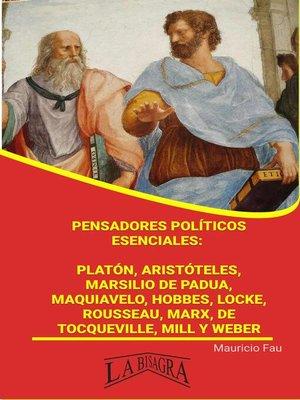 cover image of Pensadores Políticos Esenciales