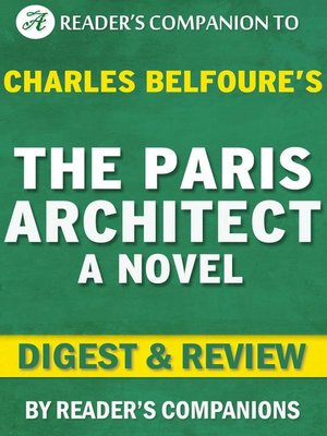 cover image of The Paris Architect