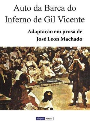 cover image of Auto da Barca do Inferno de Gil Vicente