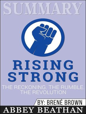 cover image of Summary of Rising Strong
