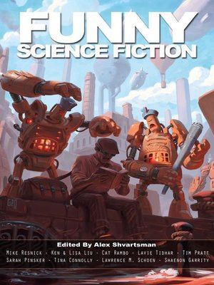 cover image of Funny Science Fiction