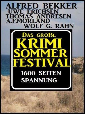 cover image of Das große Sommer Krimi-Festival