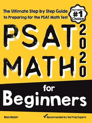 cover image of PSAT Math for Beginners