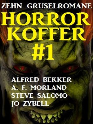 cover image of Horror-Koffer #1