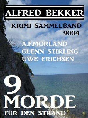 cover image of Krimi Sammelband 9004
