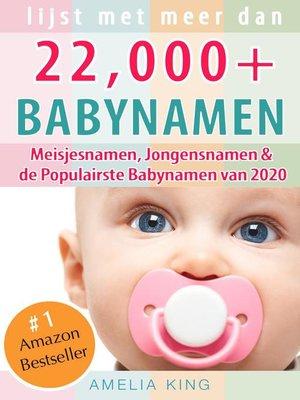 cover image of Babynamen