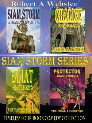 cover image of Siam Storm--The Series--Box set
