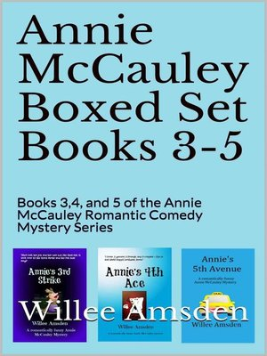 cover image of Annie McCauley Boxed Set Books 3-5