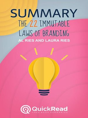 """cover image of Summary of """"The 22 Immutable Laws of Branding"""" by Al Ries and Laura Ries"""