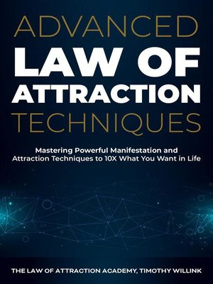 cover image of Advanced Law of Attraction Techniques
