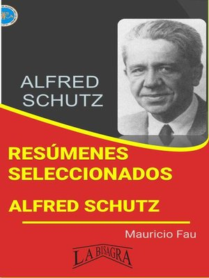 cover image of Alfred Schutz