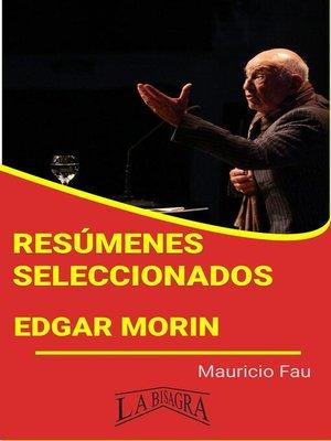 cover image of Edgar Morin