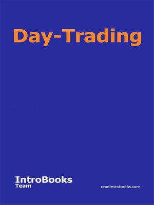 cover image of Day-Trading