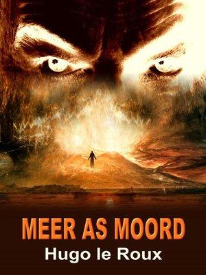 cover image of Meer as moord