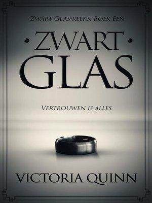 cover image of Zwart Glas, #1