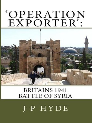 cover image of 'Operation Exporter'