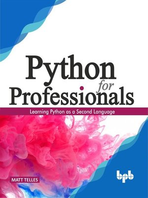 cover image of Python for Professionals