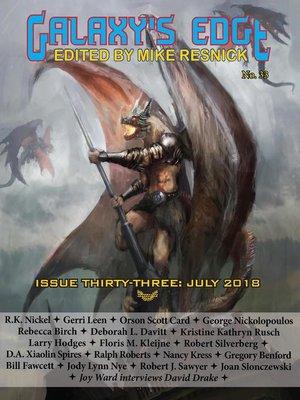 cover image of Galaxy's Edge Magazine