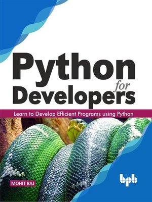 cover image of Python for Developers