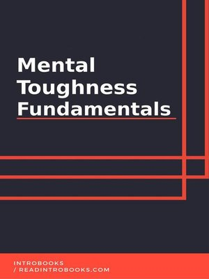 cover image of Mental Toughness Fundamentals