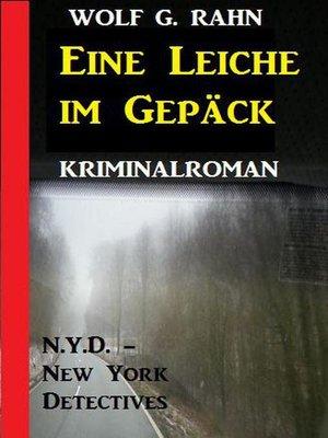 cover image of Eine Leiche im Gepäck