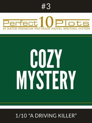 cover image of Perfect 10 Cozy Mystery Plots
