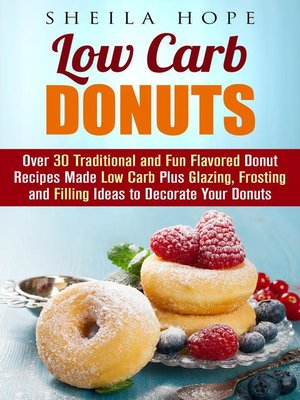 cover image of Low Carb Donuts