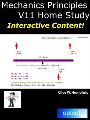 cover image of Mechanics Principles V11 Home Study
