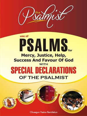 cover image of Use of Psalms for Mercy, Justice, Help, Success and Favour of God