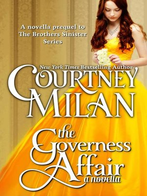 cover image of The Governess Affair