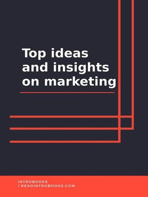 cover image of Top ideas and insights on marketing