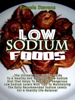 cover image of Low Sodium Foods