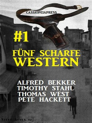 cover image of Fünf scharfe Western # 1