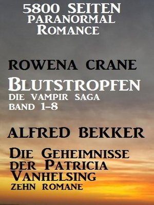 cover image of 5800 Seiten Paranormal Romance