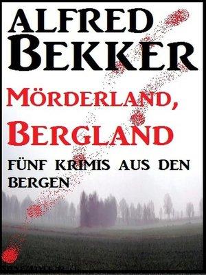cover image of Fünf Krimis aus den Bergen