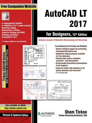 cover image of AutoCAD LT 2017 for Designers