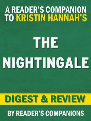 cover image of The Nightingale by Kristin Hannah | Digest & Review